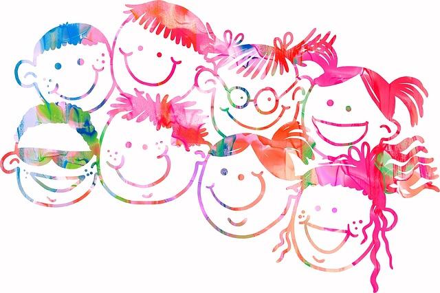 veselé obličeje