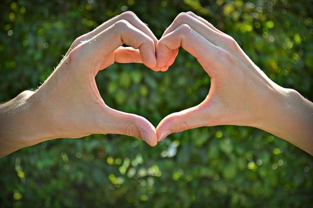 tvar srdce