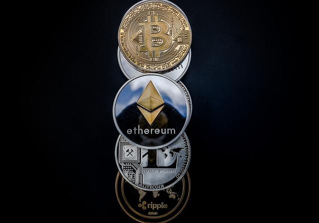 řada mincí