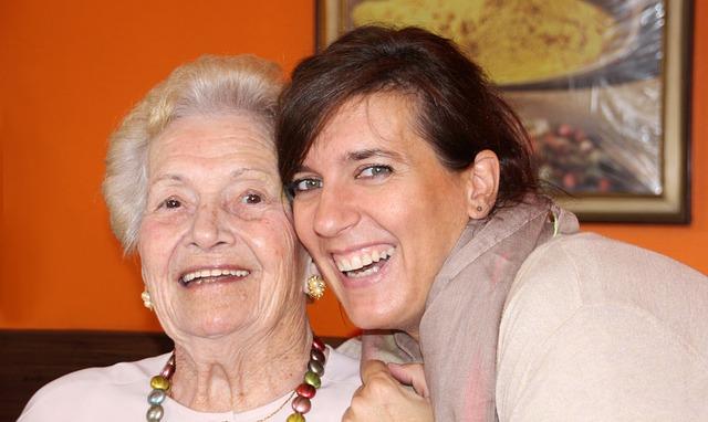 radost s babičkou