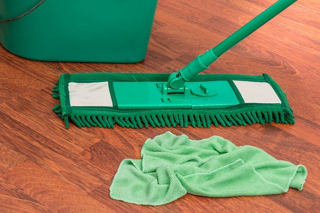 sada na mytí podlahy